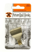 Brassed Picture Rail Hooks