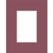 Savage ProMatte, Single 28cm x 36cm Photo Mat with 20cm x 25cm Opening, Bevel Cut, Acid Free, Single Colour