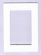 Warm White Acid Free Linen Picture Frame Mat
