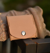 Genuine Leather Coin Purse By Handmade with Gift Box