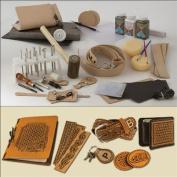 Professional Leathercraft Set by Tandy.