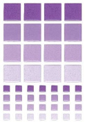 Sticko Tiles Play Stickers-Purple Squares Mosaic