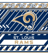 Turner NFL St. Louis Rams Stretch Book Covers