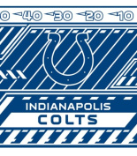 Turner NFL Indianapolis Colts Stretch Book Covers