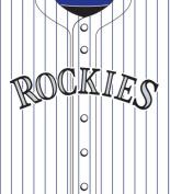Turner MLB Colorado Rockies Stretch Book Covers
