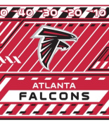 Turner NFL Atlanta Falcons Stretch Book Covers