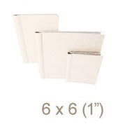 Zutter 7548 15cm by 15cm Curved Spine Cover-all for 2.5cm Owire, White
