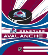 Turner NHL Colorado Avalanche Stretch Book Covers