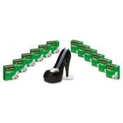 "Magic Tape Value Pack with Black Shoe Dispenser, 3/"" x 250cm 12 Rolls"