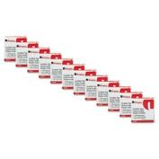 Invisible Tape, 1.3cm x 3290cm , 2.5cm Core, Clear, 12 Rolls per Pack