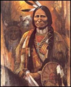 Chief American Horse 3D Kit 8x10
