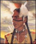 Indian Warrior II Paper Tole 3D Kit 8x10