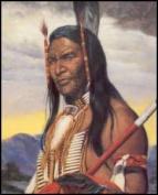 Indian Warrior III Paper Tole 3D Kit 8x10