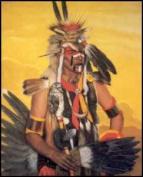 Mohawk Warrior Paper Tole 3D Kit 8x10