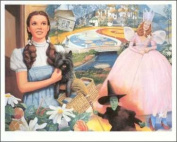 Wizard of OZ Paper Tole 3D Craft Kit 6x9