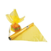 Cello Wrap Roll Yellow