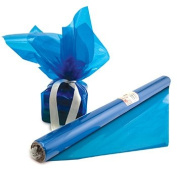 Cello Wrap Roll Blue -- Case of 8