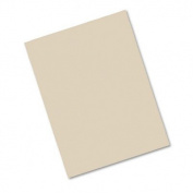 o Pacon o - Construction Paper, 76#, 25% Sulphite, 9 x 12, Lt Brown, 50 Sheets/pk