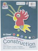Art Street Art Street Construction Paper, 300 Sheets