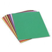 SunWorks : SunWorks Construction Paper, Heavy, 24 x 36, 10 Colours, 50 Sheets -:- Sold as 1 PK