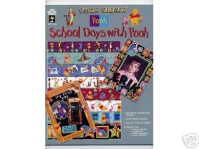 8.5x11 Disney School Days with Pooh Papers OOP