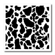 Janna Salak Designs Prints and Patterns - Black and White Cow Print - Iron on Heat Transfers