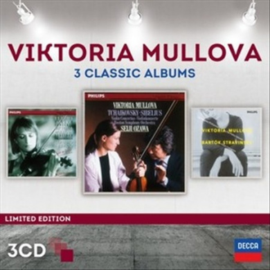 Viktoria Mullova: 3 Classic Albums
