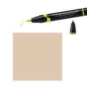 Prismacolor Premier Double-Ended Brush Tip Markers light umber 30% 272