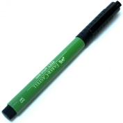 Faber-Castell Pitt Artist Pens permanent green olive brush 167