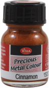 Viva Decor Precious Metal Colour 25ml/Pkg-Cinnamon