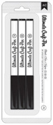 American Crafts 3-Pack Ultimate Craft Pen, Black