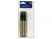 Faber Castell Mix & Match Pitt Artist Pen Set Metallic Classic