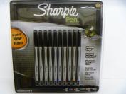Sharpie Multi Colour Fine Point Pens 10 Pack