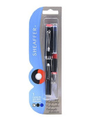 Sheaffer Viewpoint Calligraphy Fountain Pen fine black and blue ink [PACK OF 3 ]