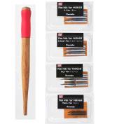 Kuretake Zig Cartoonist Ink Dip Pen Holder and Nib Set