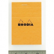 Rhodia Classic Orange Notepad 3X4 Grid