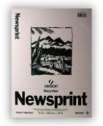 Canson Biggie Newsprint Paper Pad - 23cm x 30cm - 100 Sheet Pad