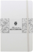 Pentalic Illustrators Sketchbook, 20cm by 13cm , White Chocolate