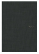 Ecoqua Grid Notebook 8.25X11.7 Black