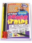 Blitz How to Draw Comic Strips Kit travel size comic strip kit
