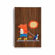 EcoJot Fox Kids Sketchbook 15cm X 23cm