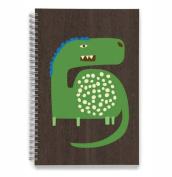 EcoJot Green DIno Kids Sketchbook 15cm X 23cm