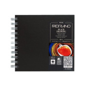 Fabriano Artist Square Black Draw 5.9X5.9