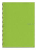 Fabriano EcoQua Notebooks spiral blank lime 21cm x 30cm .