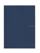 Fabriano EcoQua Notebooks spiral blank navy 21cm x 30cm .