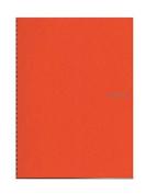 Fabriano EcoQua Notebooks spiral blank orange 21cm x 30cm .