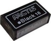 Factis Eraser Black 18