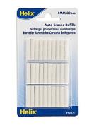 Helix Auto Eraser eraser refills pack of 30 [PACK OF 12 ]