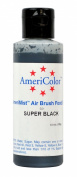 AMERIMIST SUPER BLACK AIRBRUSH colour 130ml Cake Decorating Colour