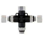 Airbrush Manifold 3-Way Air Hose Splitter 0.3cm Taps